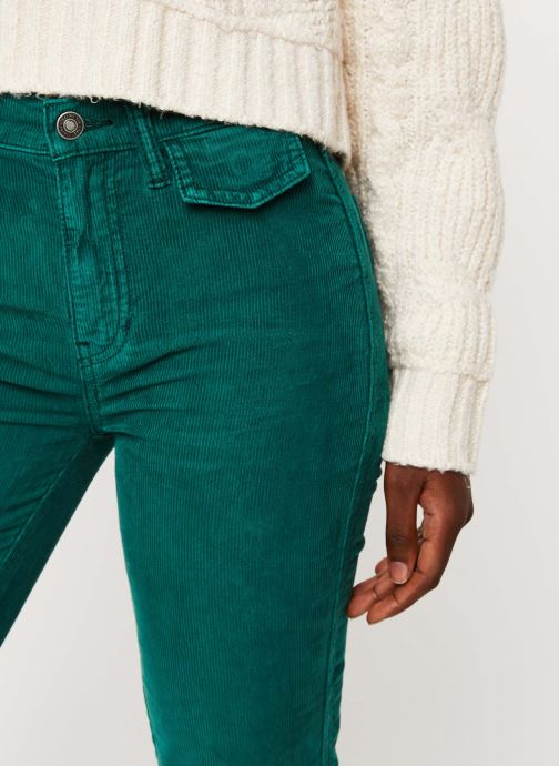 Vêtements Free People ACES HIGH STRAIGHT CORD Vert vue face