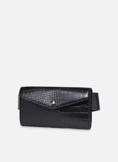Petite Maroquinerie Bianco BIAJUDITH Fanny Bag Noir vue portées chaussures
