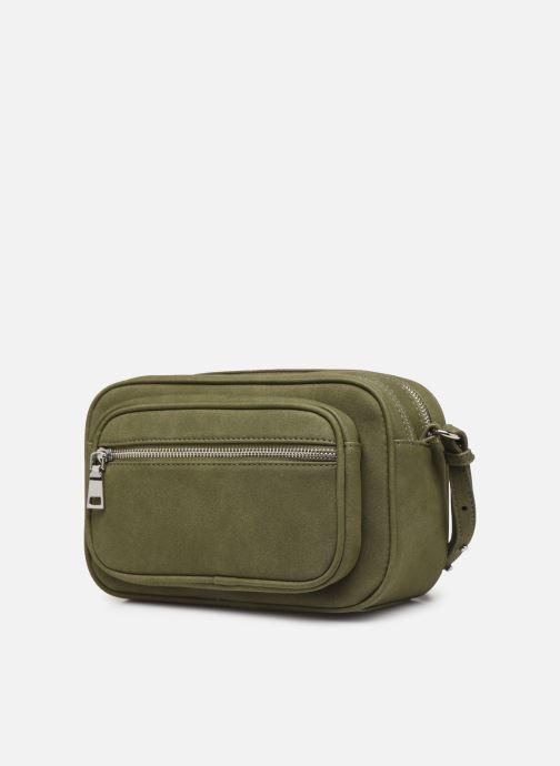 Bolsos de mano Bianco BIAJOY Chain Crossover Bag Verde vista del modelo