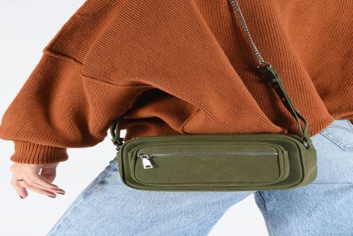 Sacs à main Bianco BIAJOY Chain Crossover Bag Vert vue bas / vue portée sac