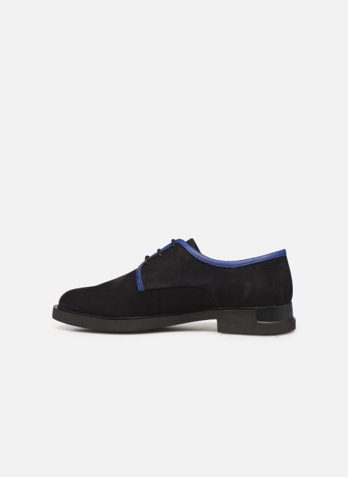 Chaussures à lacets Camper TWS K200899 Noir vue face