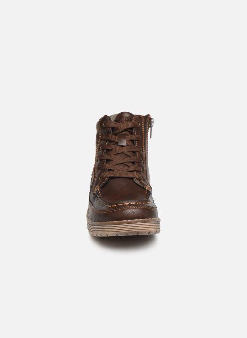 Zapatos con cordones Xti 55963 Marrón vista del modelo