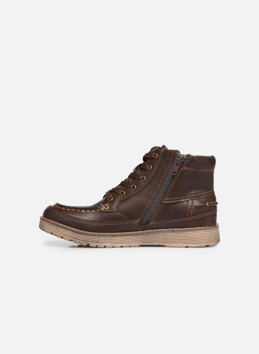 Zapatos con cordones Xti 55963 Marrón vista de frente
