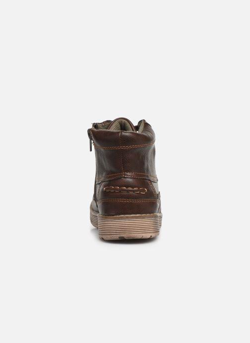 Zapatos con cordones Xti 55963 Marrón vista lateral derecha