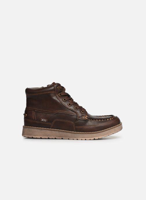 Zapatos con cordones Xti 55963 Marrón vistra trasera