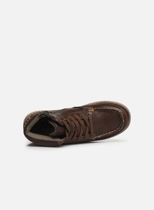Zapatos con cordones Xti 55963 Marrón vista lateral izquierda