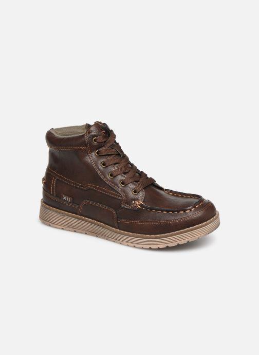 Snøresko Xti 55963 Brun detaljeret billede af skoene