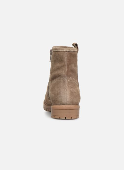 Ankle boots Xti 55982 Beige view from the right