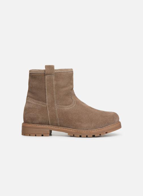 Boots en enkellaarsjes Xti 55982 Beige achterkant
