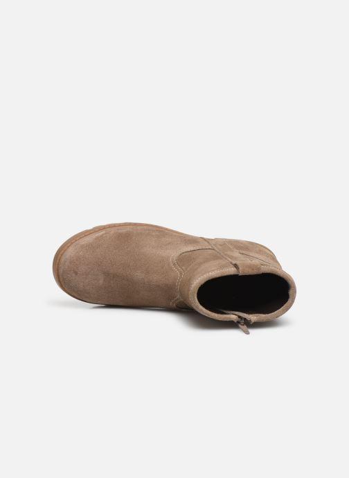Boots en enkellaarsjes Xti 55982 Beige links