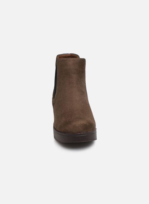 Bottines et boots Xti 56615 Marron vue portées chaussures