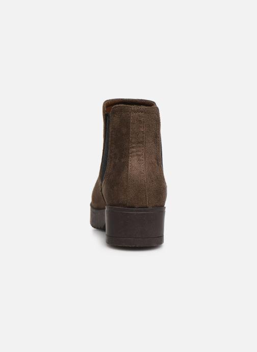 Bottines et boots Xti 56615 Marron vue droite