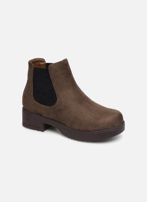 Bottines et boots Xti 56615 Marron vue détail/paire
