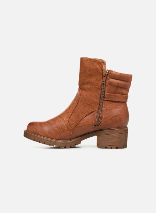 Stiefeletten & Boots Xti 56626 braun ansicht von vorne