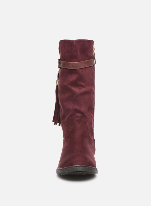 Bottes Xti 55615 Bordeaux vue portées chaussures
