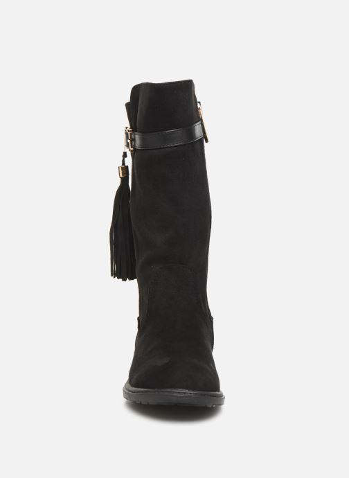 Bottes Xti 55615 Noir vue portées chaussures