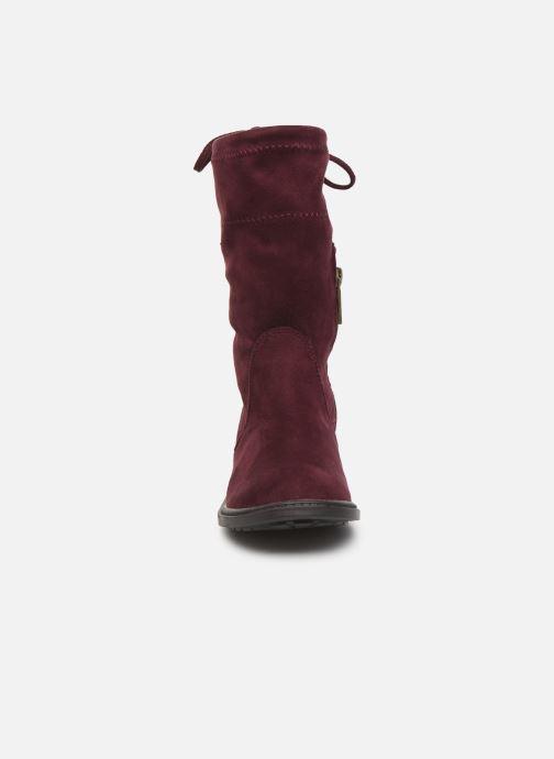 Bottes Xti 55771 Bordeaux vue portées chaussures