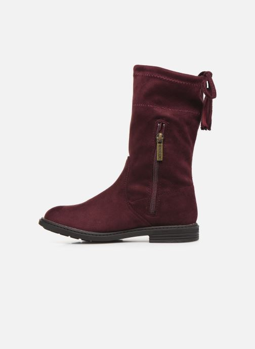 Boots & wellies Xti 55771 Burgundy front view
