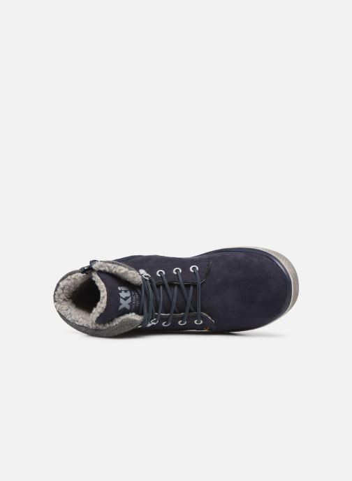 Sneakers Xti 55817 Azzurro immagine sinistra