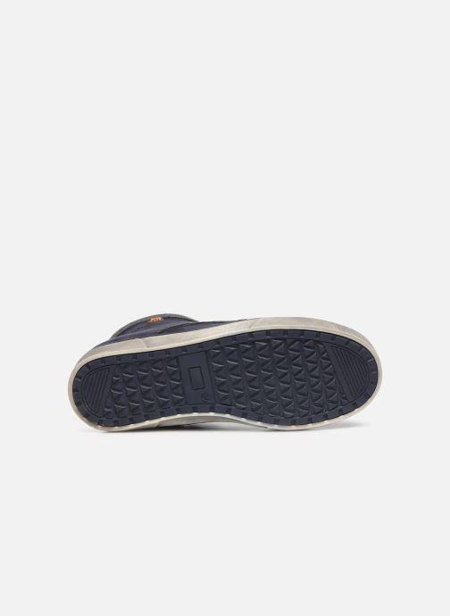Baskets Xti 55817 Bleu vue haut