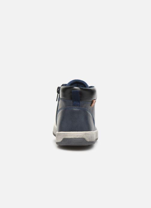 Baskets Xti 55835 Bleu vue droite