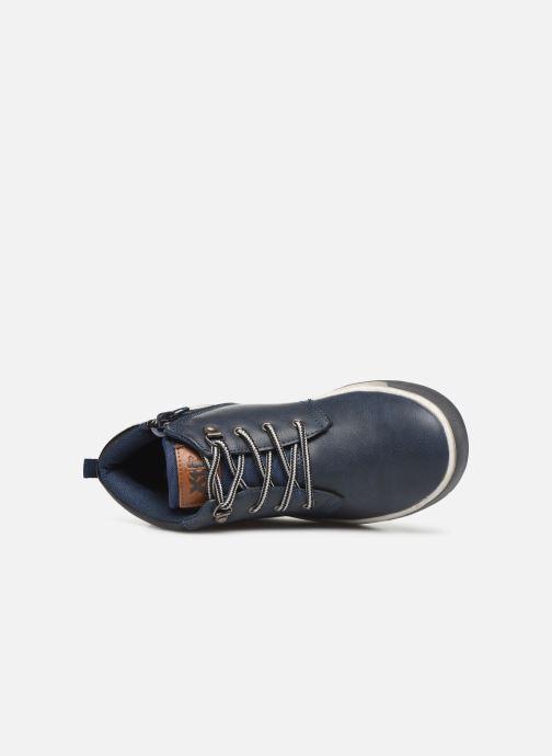 Sneakers Xti 55835 Blauw links