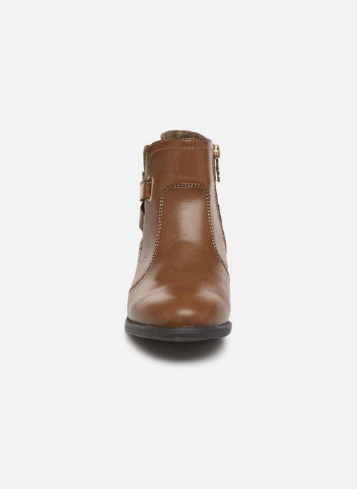 Bottines et boots Xti 55890 Marron vue portées chaussures