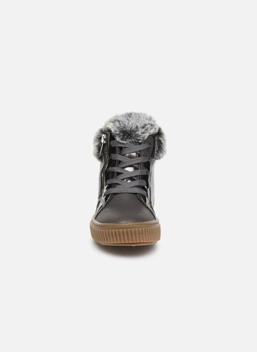 Baskets Xti 55940 Argent vue portées chaussures