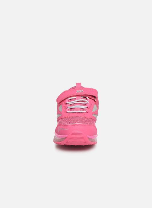 Baskets Xti 55361 Rose vue portées chaussures