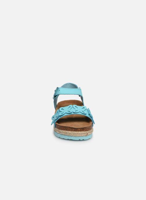 Sandalen Xti 56649 blau schuhe getragen