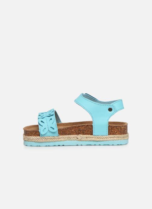 Sandalen Xti 56649 blau ansicht von vorne