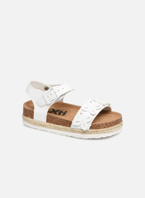 Sandals Xti 56649 White detailed view/ Pair view