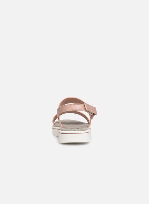 Sandales et nu-pieds Xti 56684 Rose vue droite