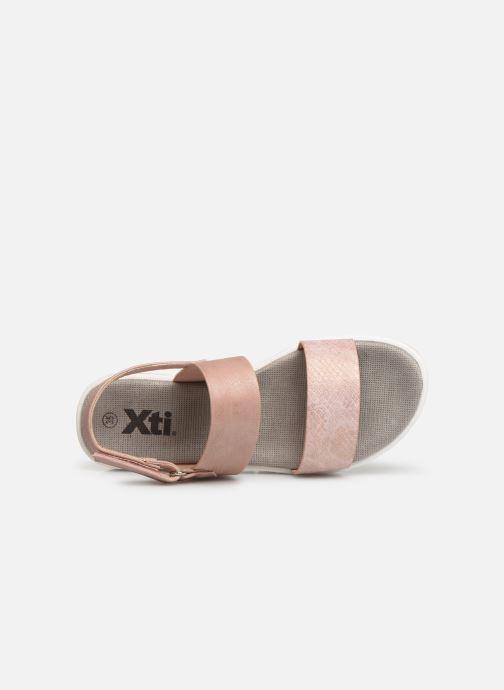 Sandales et nu-pieds Xti 56684 Rose vue gauche