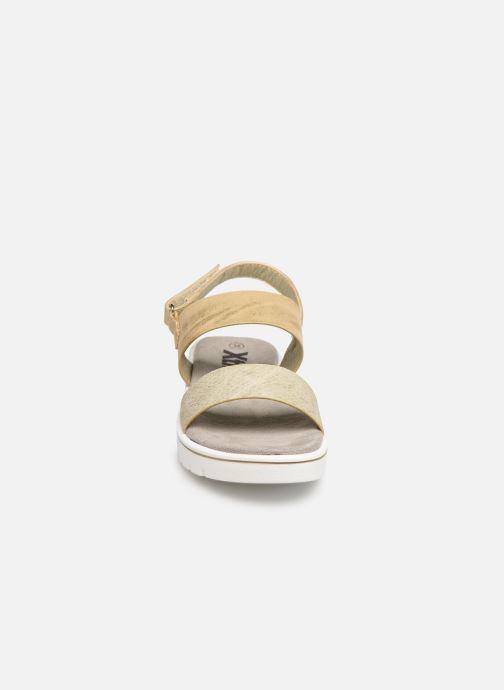 Sandalen Xti 56684 gold/bronze schuhe getragen