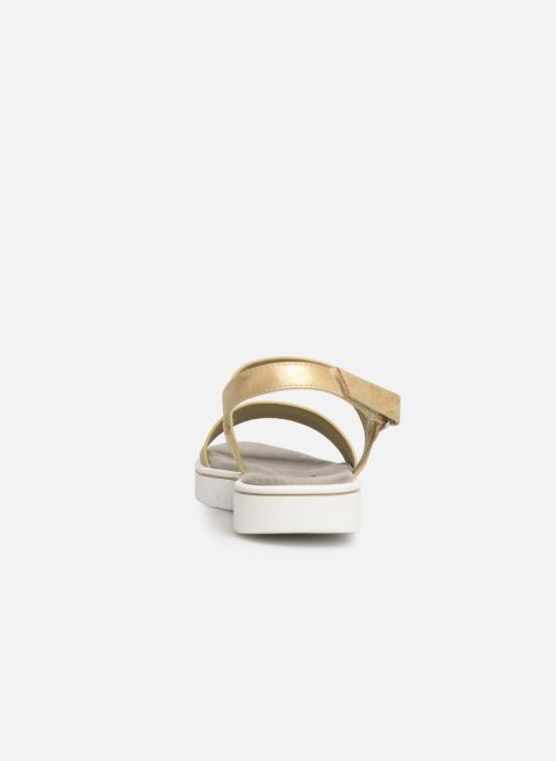 Sandalias Xti 56684 Oro y bronce vista lateral derecha