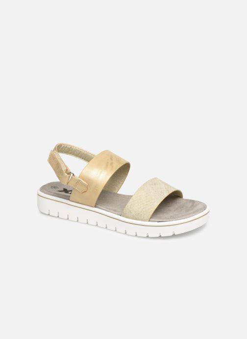 Sandales et nu-pieds Xti 56684 Or et bronze vue détail/paire