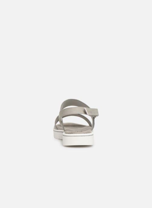 Sandales et nu-pieds Xti 56684 Gris vue droite