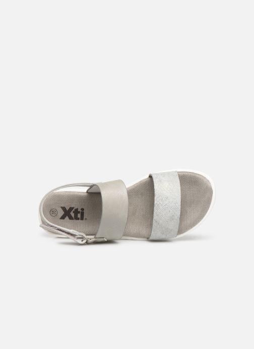 Sandalen Xti 56684 grau ansicht von links