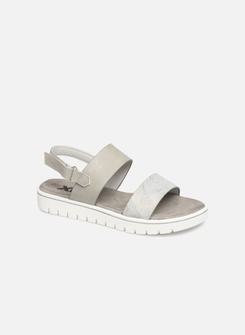 Sandals Xti 56684 Grey detailed view/ Pair view