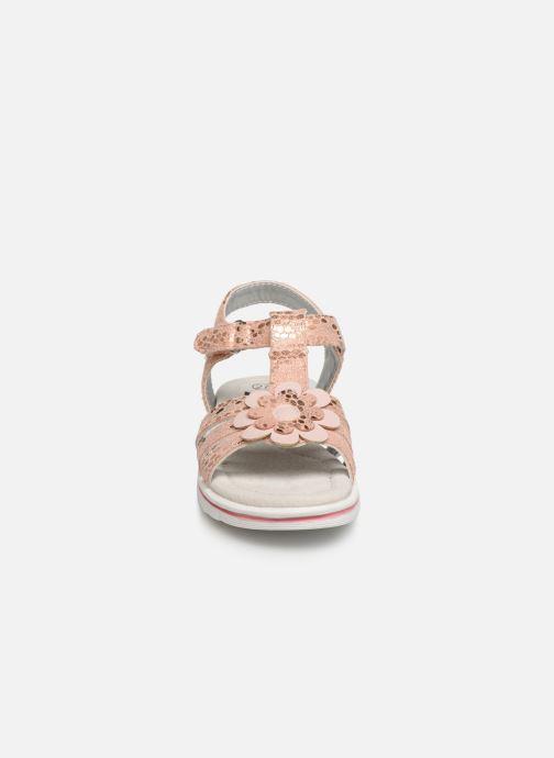 Sandales et nu-pieds Xti 56761 Rose vue portées chaussures