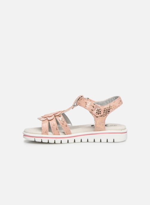 Sandals Xti 56761 Pink front view