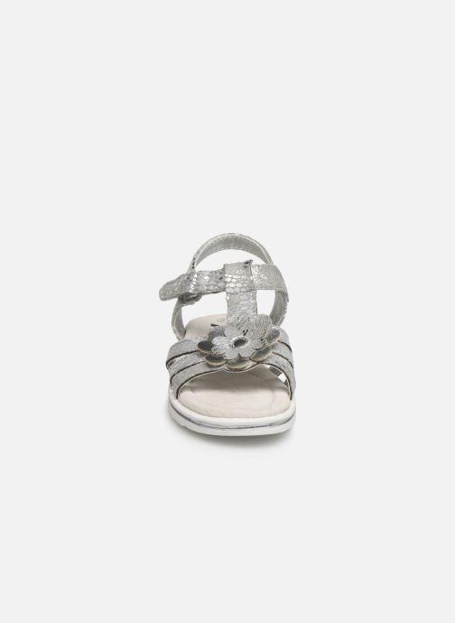 Sandalen Xti 56761 silber schuhe getragen