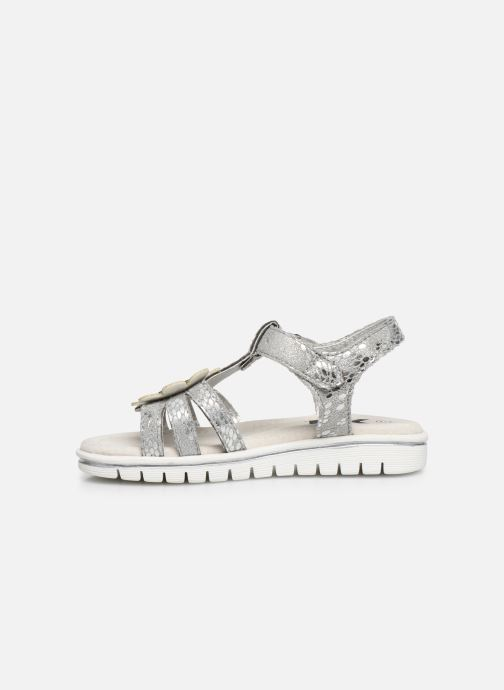 Sandals Xti 56761 Silver front view