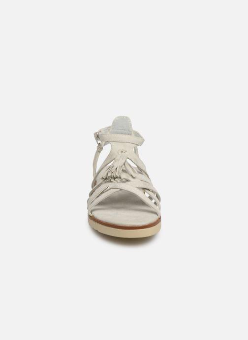 Sandalen Xti 56781 weiß schuhe getragen