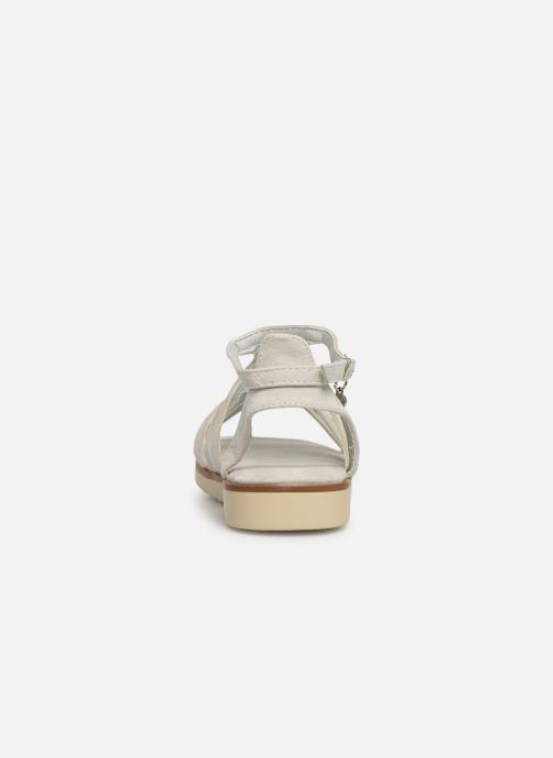 Sandales et nu-pieds Xti 56781 Blanc vue droite