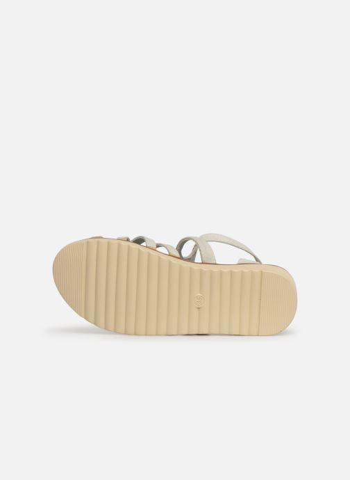Sandales et nu-pieds Xti 56781 Blanc vue haut