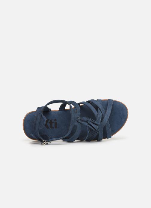 Sandalen Xti 56781 Blauw links
