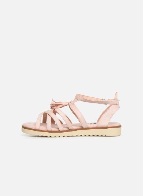 Sandales et nu-pieds Xti 56781 Rose vue face