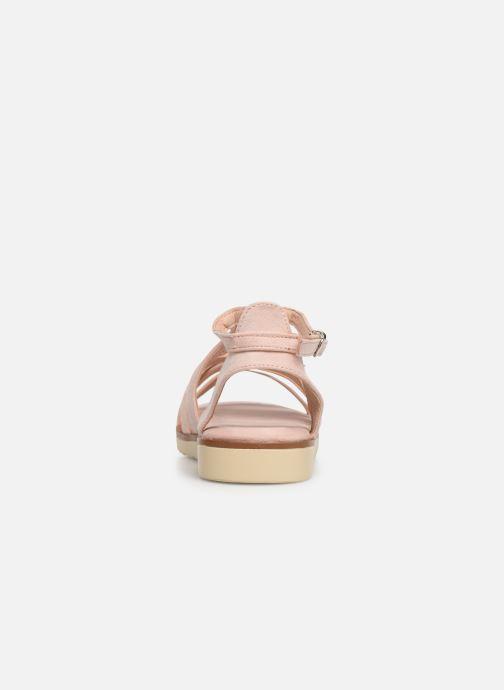 Sandales et nu-pieds Xti 56781 Rose vue droite
